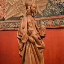 Figura Marii Magdaleny w Musée de Cluny