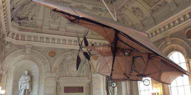 Samolot nr 3 w Musée des Arts et Métiers